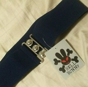 Large Hell Bunny waistband belt